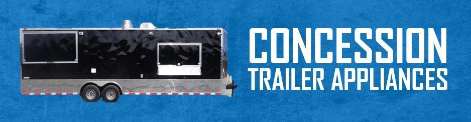 Concession Trailer Appliances