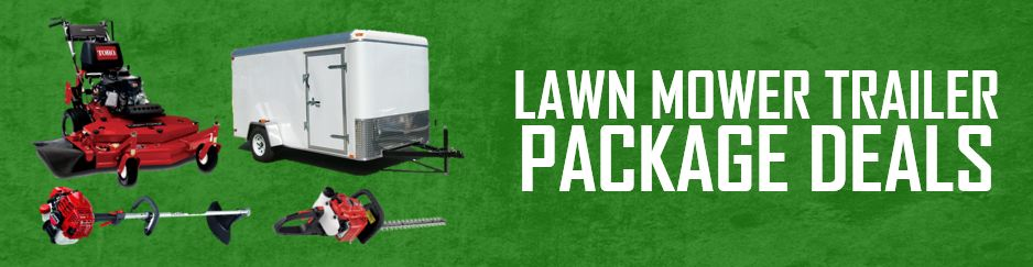 Lawn Mower Trailer Package Deals