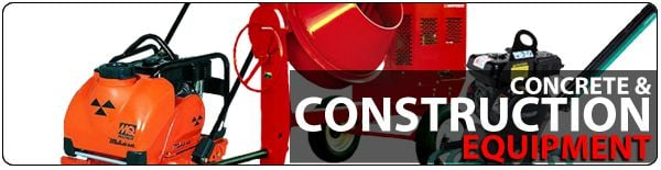 Construction & Concrete Equipment