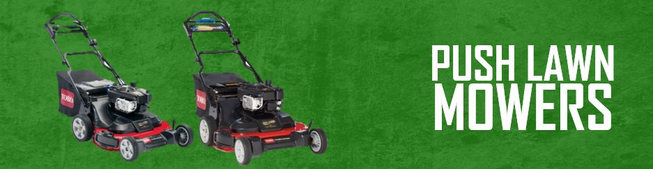 Gas Push Lawn Mowers