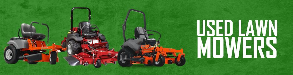 Used lawn mowers sle equipment for Used lawn and garden equipment