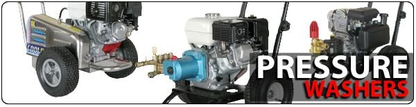 Gas Cold Water Pressure Washers