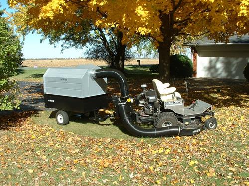 Trac Vac 1060 Zero Turn Mower Bagger Vacuum Pull Behind 11