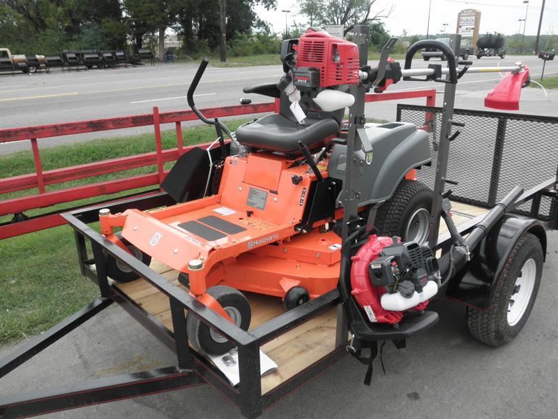 Lawn Mower Utility Trailer : New quot husqvarna ez zero turn lawn mower utility