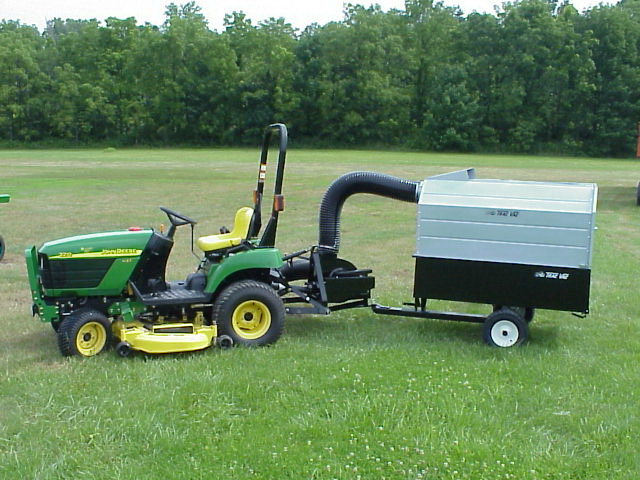 Trac Vac 856 Lawn Mower Bagger Vacuum 3 Point Hitch 13 5