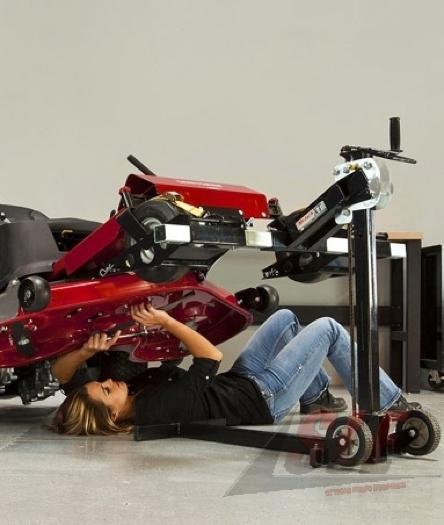 Tractor Wheelchair Lift : New lawn mower zero turn lift mojack xt lifts jack lb