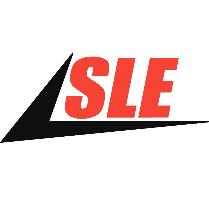 Dixie Chopper Genuine Part Nut - 5/16 - 24 Nyloc Gr.A  Clear Zinc N-125