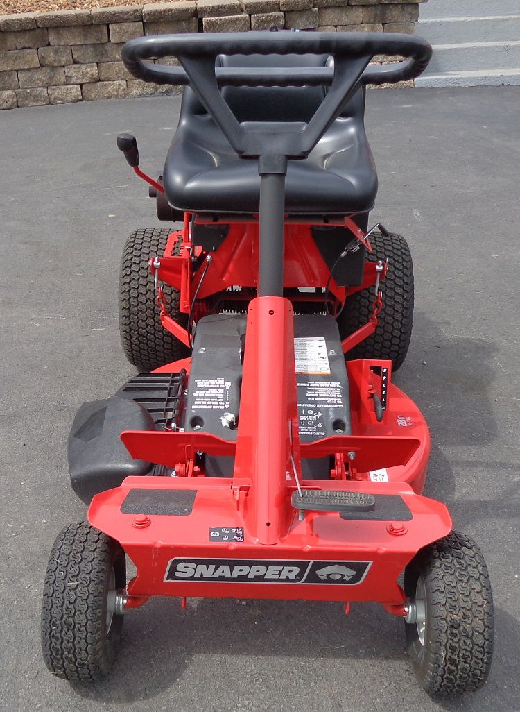 Used 28 39 39 Snapper Rear Engine Rider With Bagger Lawn Mower 12 5 Hp Briggs Ebay