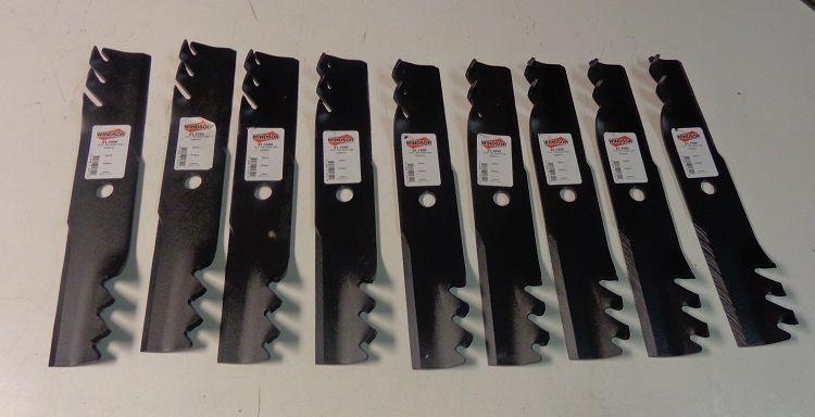 "42/"" Oregon 91-167 High Lift Lawnmower Blade Set Dixon 13920 13938 8688 539119838"