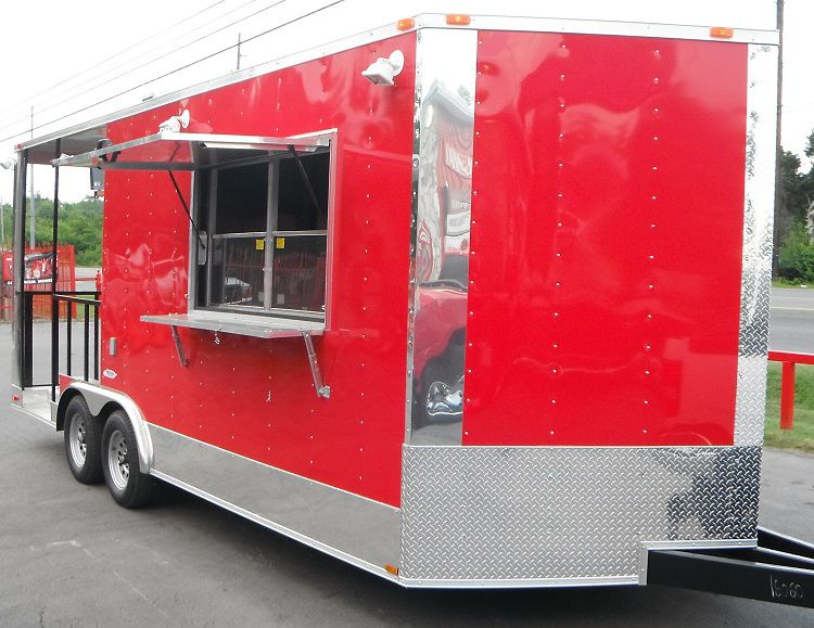 BBQ Smoker Concession Trailers