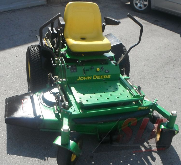 Used 48 U0026quot  John Deere 717 Lawn Mower 19 Hp Kawasaki Engine