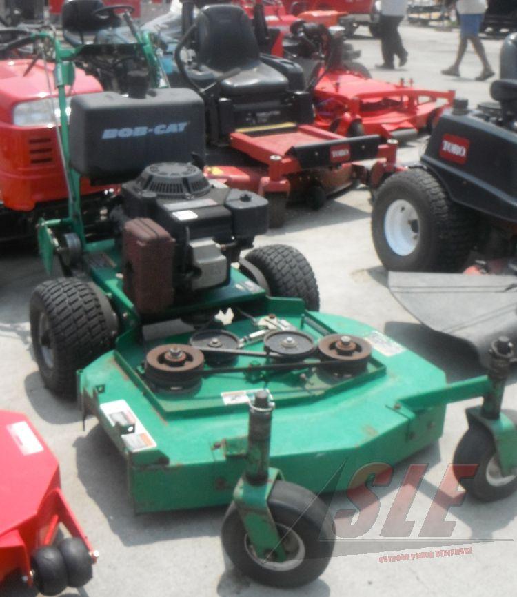 Used 36 bobcat walk behind lawn mower 15 hp kohler engine for Used lawn mower motors