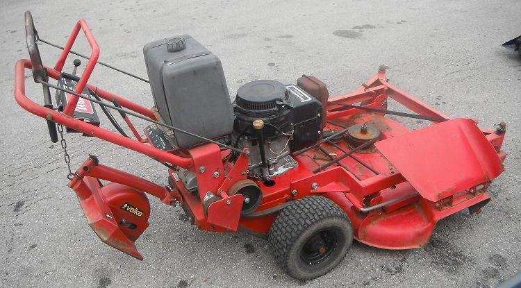 Toro Walk Behind Mower Transmissions : Used quot walk behind toro zero turn lawn mower hp