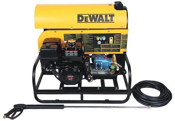 Dewalt dxpwh3040 pressure washer 3000 psi 4 gpm gas hot - Turn garden hose into pressure washer ...
