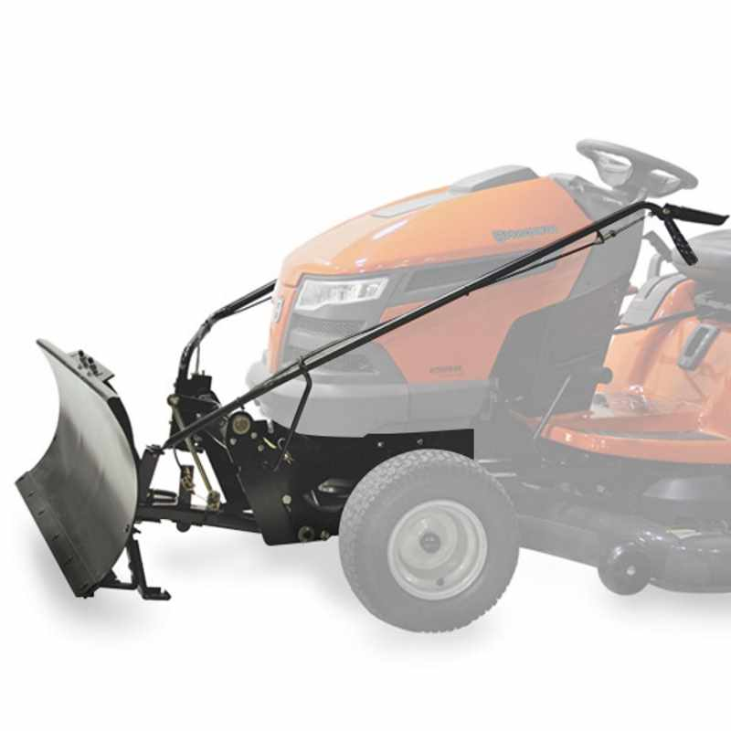 Garden Tractor Snow Plows : Husqvarna dozer blade snow plow for garden tractor ebay