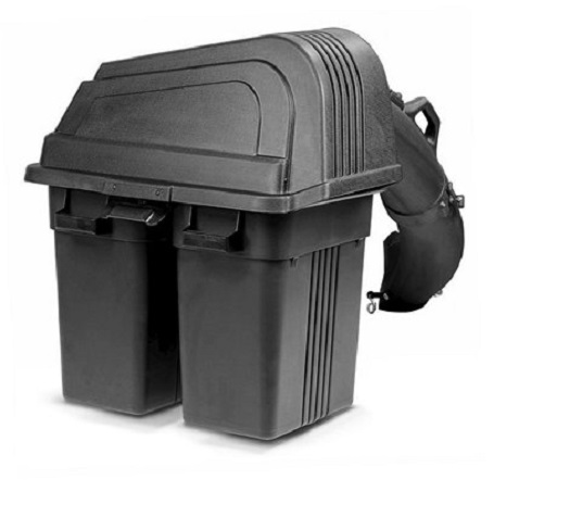 husqvarna g462sl lawn tractor bagger grass catcher 2 bin. Black Bedroom Furniture Sets. Home Design Ideas