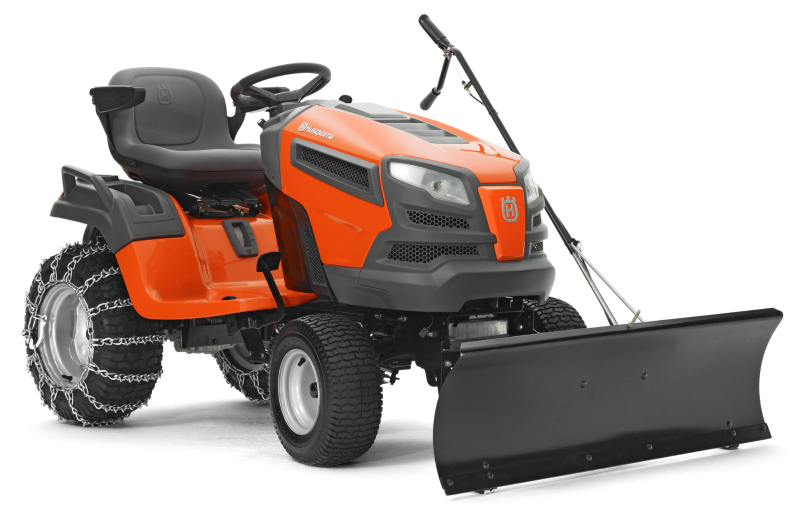 Garden Tractor Snow Plows : Husqvarna quot snow plow blade for lawn tractor ebay