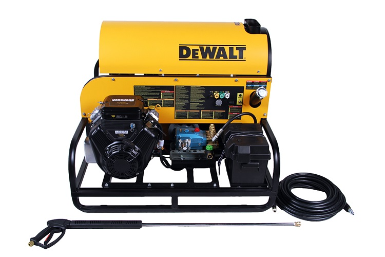 Dewalt dxpwh3650 pressure washer 3600 psi 5 gpm gas hot - Turn garden hose into pressure washer ...
