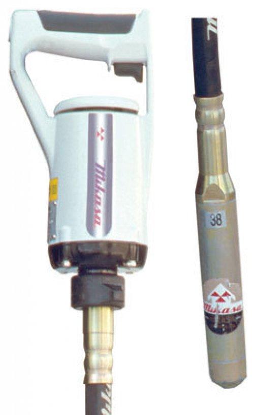Used concrete equipment vibrator theme