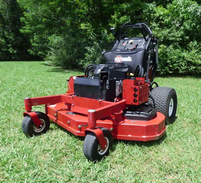 Used Exmark Vantage Zero Turn Lawn Mower 52 U0026quot  Kawasaki