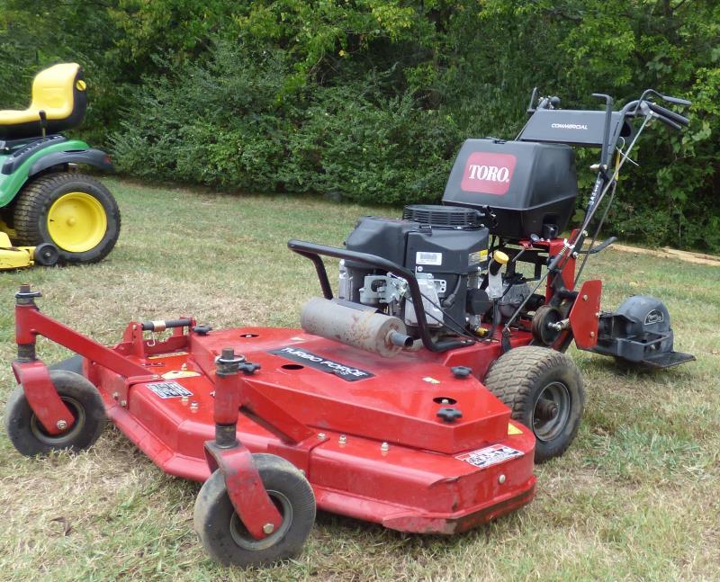 Toro Walk Behind Mower Transmissions : Used toro turboforce quot walk behind lawn mower hp
