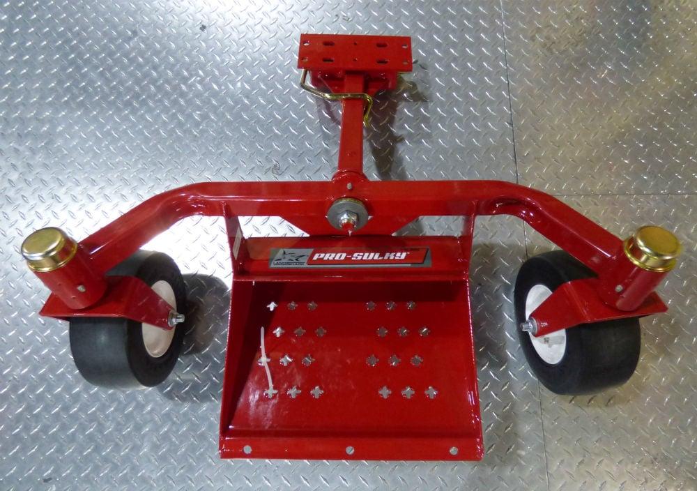 Landshark Two Swivel Wheel Pro Sulky Velky Run Flat Tires