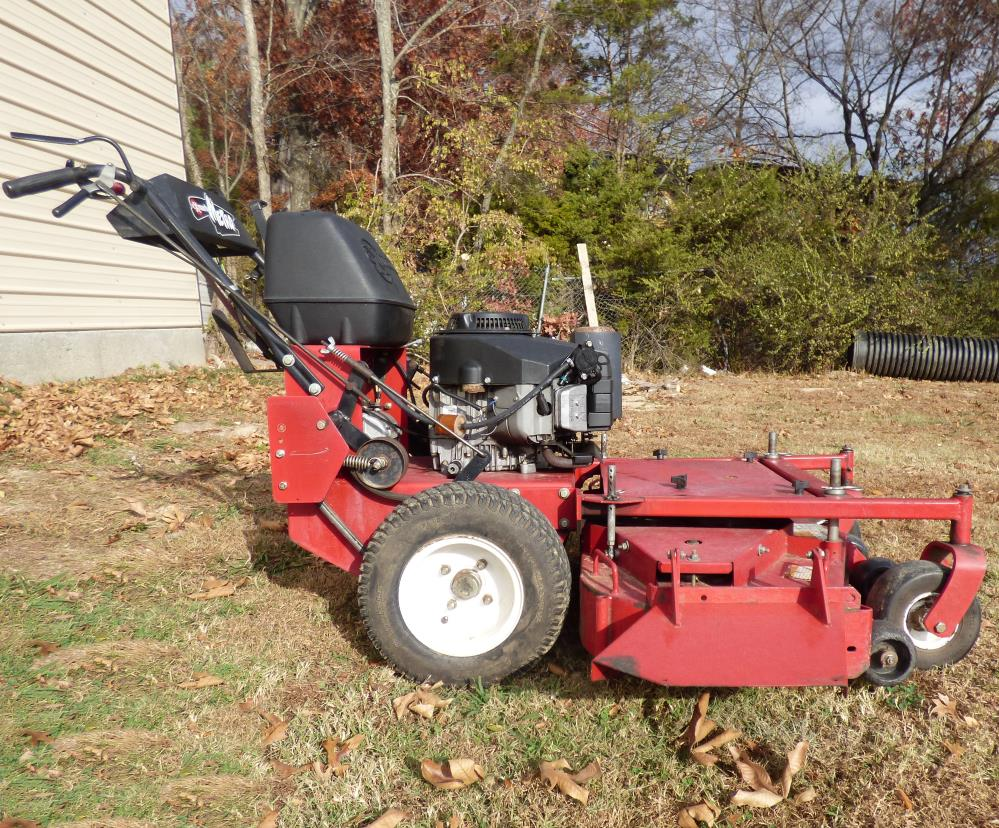 Rebuilt Lawn Tractor Engines : Used exmark metro quot walk behind lawn mower hp engine