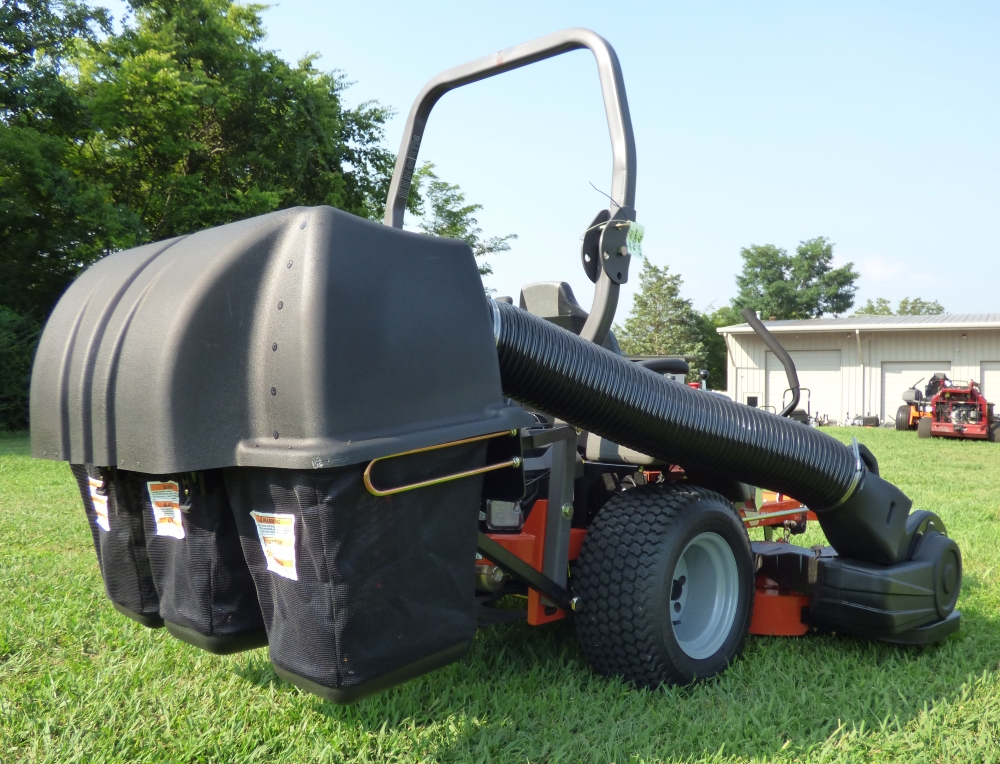 Husqvarna M Zt61 Bagger Grass Catcher 3 Bin Zero Turn