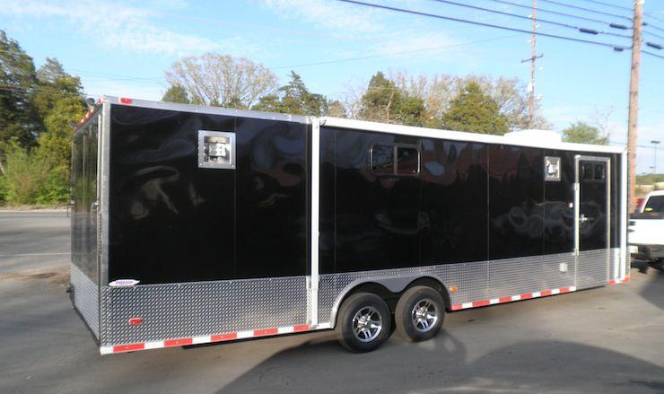 NEW 8.5 x 28 Enclosed Trailer Car Equipment Hauler