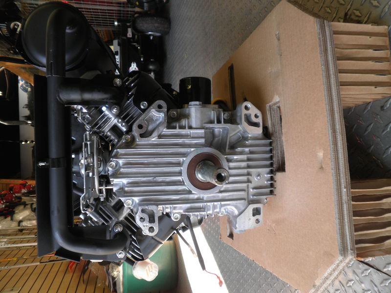 19 hp Kawasaki engine Manual