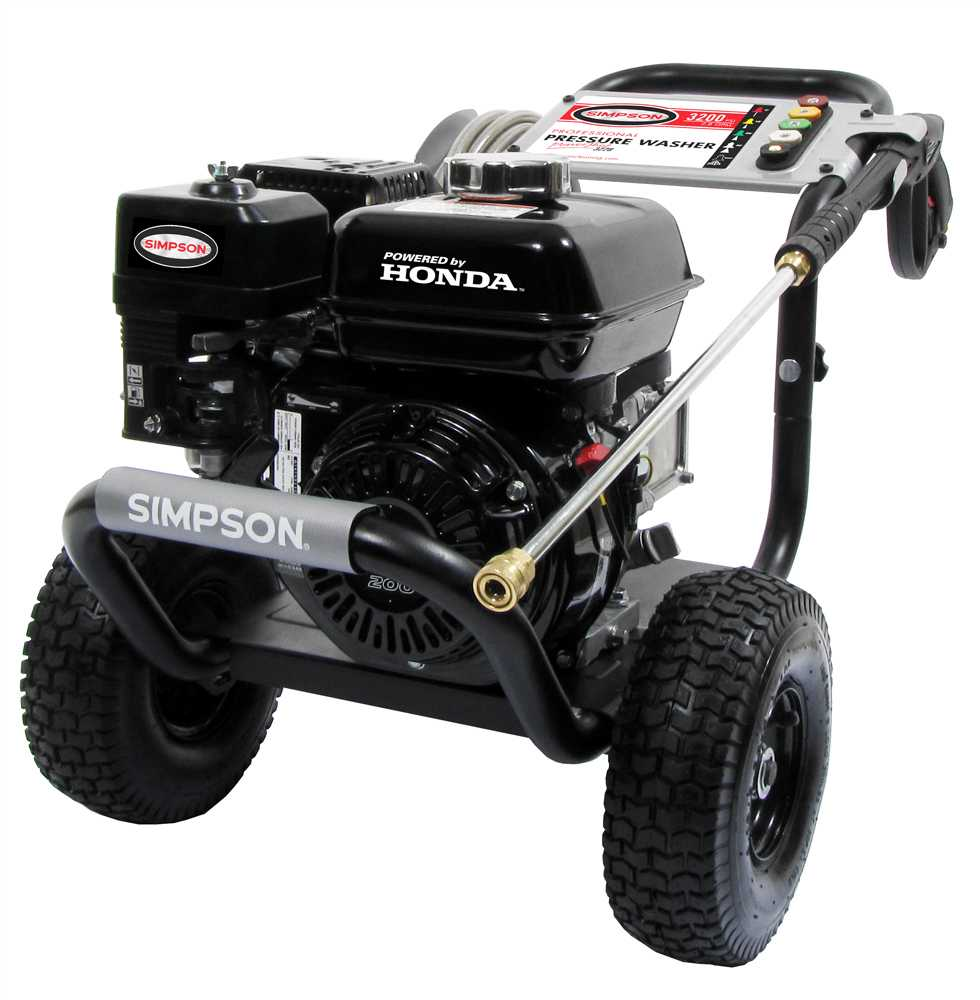 Simpson Powershot Ps3228 Pressure Washer 3200 Psi 2 8 Gpm
