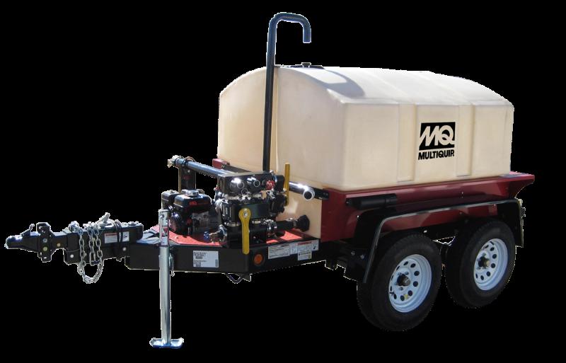 Multiquip Wt5c 500gal Industrial Mobile Water Trailer W
