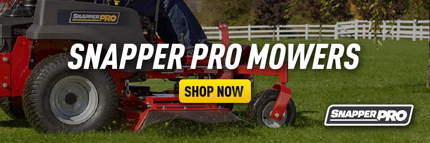 Snapper Pro Mowers