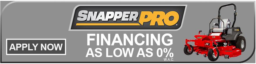 Snapper Pro Financing