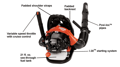 Echo PB-265L Backpack Leaf Blower